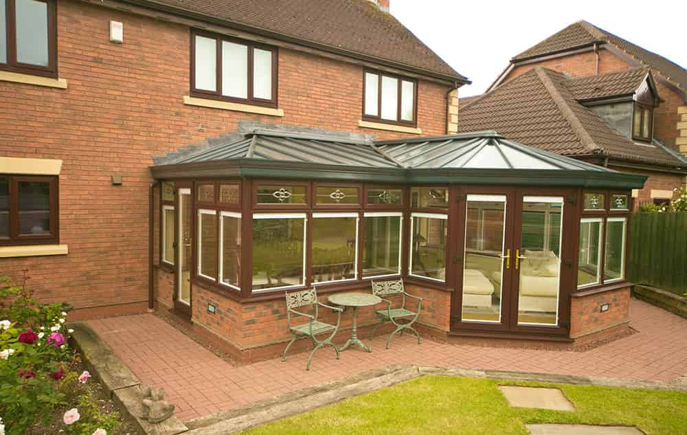 P-Shaped-Conservatory
