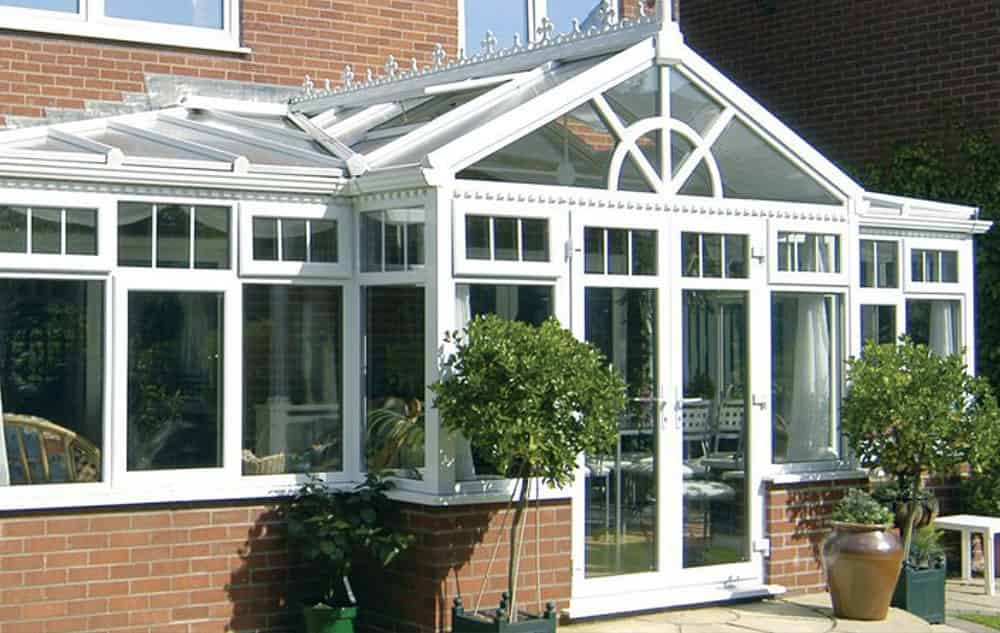 T Shaped Conservatory Essex Supply Only T Shaped